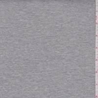 *1 3/4 YD PC--Heather Grey Jersey Knit